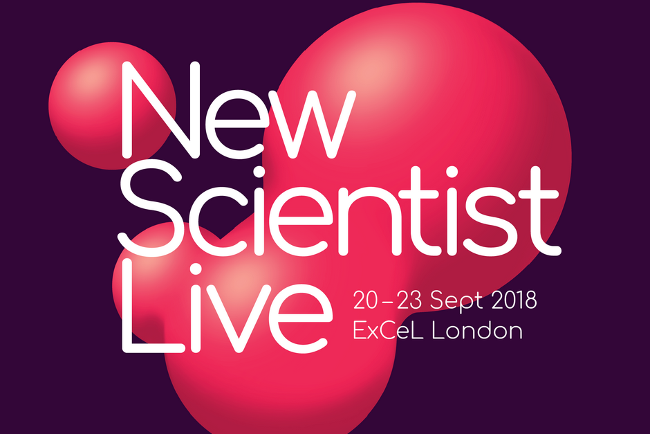 New Scientist Live 2018 Logo