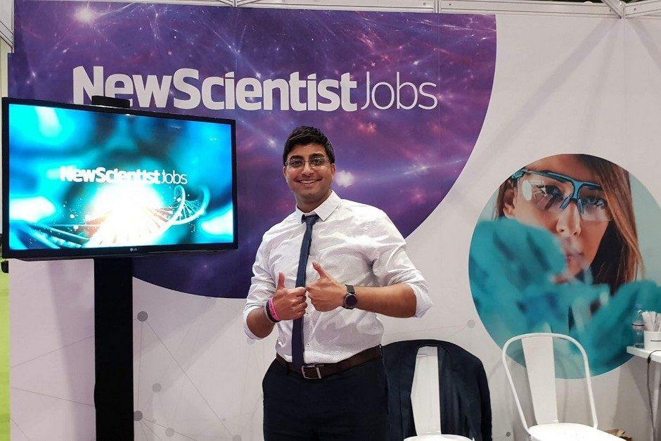 Naynesh at New Scientist Live