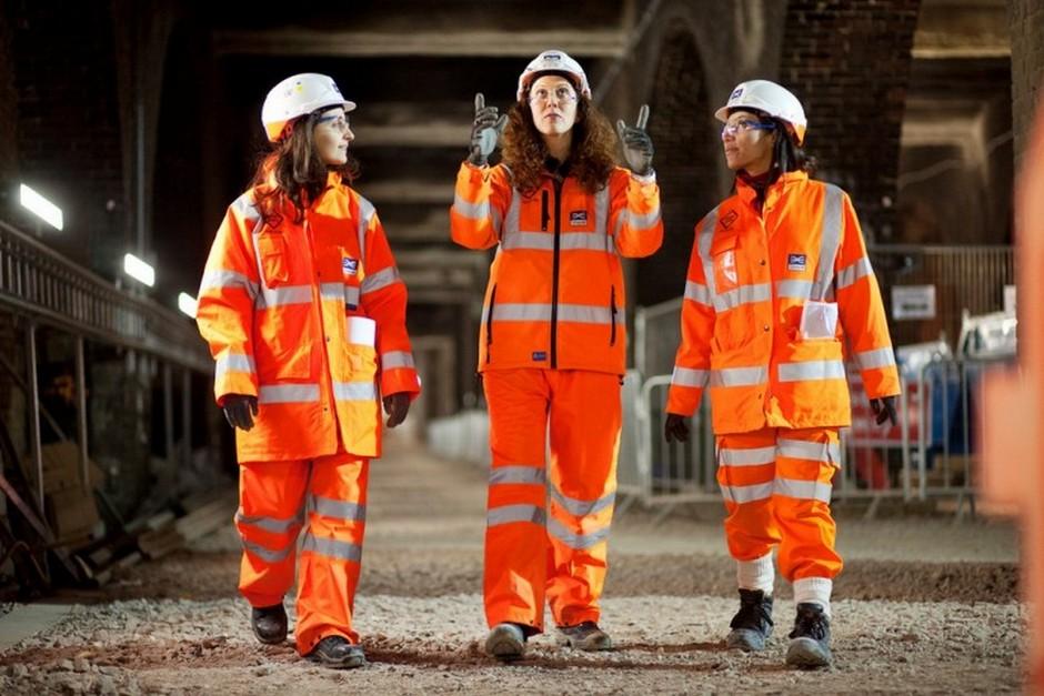 women working in engineering