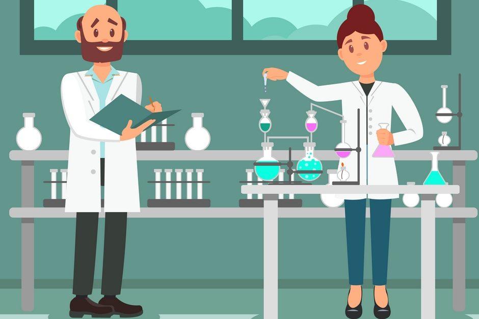 Laboratory analysts working