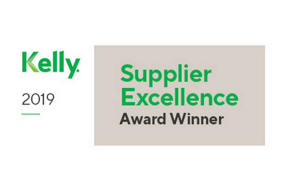 KellyOCG Supplier Excellence Award 2019 Badge