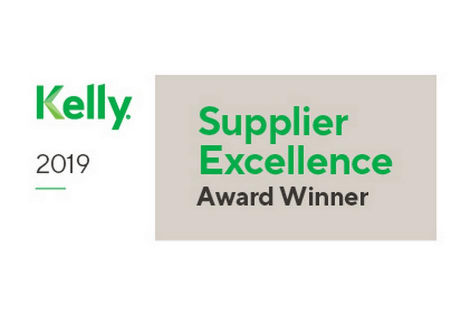 KellyOCG Supplier Excellence Award