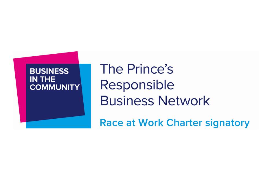 Race at Work Charter signatory Logo