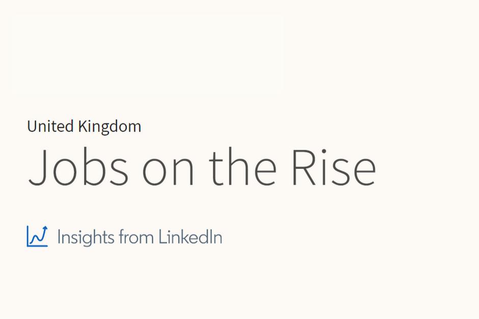 LinkedIn jobs on the rise