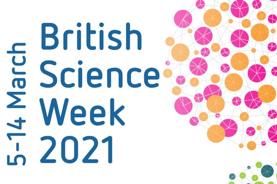 British Science Week 2021 graphic